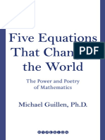 Guillen, M - Five Equations That Changed the World the Power and Poetry of Mathematics - Hyperion (1996)