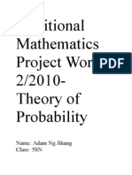Additional Mathematics Project Work 2