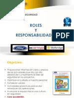 Roles Responsabilidades Lider de Seguridad