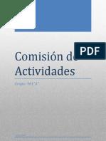 Comisión de Actividades