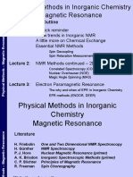 Physical Methods Nmr