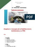Cours 4- Fiabilité & TPM
