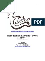 Rider El Cuatrobaja2014