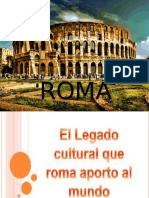 cultura roma