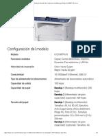 Características Técnicas de La Impresora Multifuncional Phaser 6121MFP de Xerox