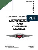 IO 550 Manual