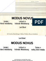 282392818 the Modus Novus Lars Edlund
