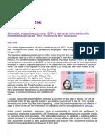BRP OA Information Leaflet - July 2016