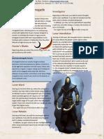 Excerpt - 5e Renegade Hunter Wizard