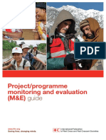 International Federation of Red Cross and Red Crescent Societies, (2011) Project Programme Monitoring and Evaluation (ME) Guide-8