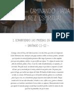 Santiago 1 Convirtiendo Las Pruebas en Triunfos