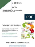Tratamiento de Neumaticos
