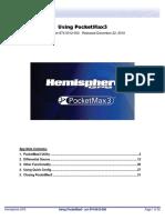 PocketMax3 User Manual