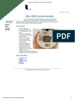 Mobiltex - CorTalk UGI1 Micro GPS Current Interrupter