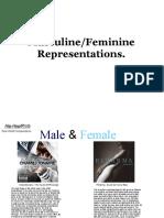 Masculine and Feminine Representations