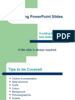 Tips on good presentations.ppt