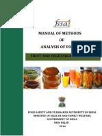 Fssai-manual Fruits Veg 25-05-2016