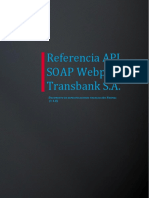 Referencia API SOAP Webpay - Transaccion Normal