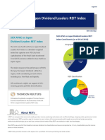 SGX APAC ex Japan Dividend Leaders REIT Index Factsheet