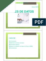 Bases de Datos sql1