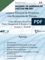 GEP RestTiempo PMI Peru Congreso 2007