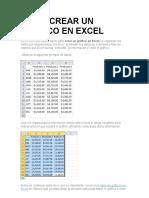 Cómo Crear Un Gráfico en Excel Diana - Copia