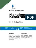 Modul 6 Cost Estimation(3)