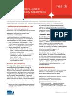 Testing of Lead Aprons - PDF