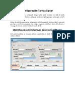 Manual Configuracion Tarifas Siptar
