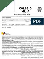 PCA - Planificación Curricular Anual (2016-2017)SEGUNDOS BGU