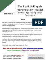 Podcast 51 Slang Expressions