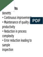 SPC Benefits