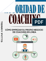 Autoridad de Coaching_ Como Empezar Su Propio NegCoaching en Linea (Spanish Edition) - Terry Pitts