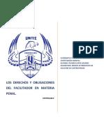 Trabajo Terminado de Los Derechos y Obligaciones Del Facilitador en Materia Penal (1)
