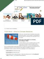 5TCM Wind – Wind in Chinese Medicine - Spiritual Coach