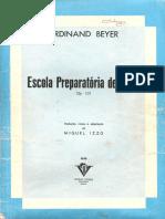 Beyer Escuela Preparatoria Piano