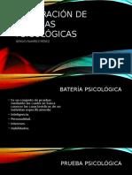 Integracion de Baterias Psicologicas