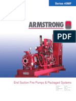 40MF Series End Suction Fire Pump & Package System Brochure