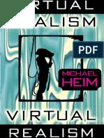 Virtual Realism_Michael Heim
