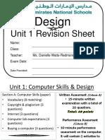 unit 1 design exam