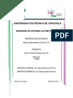 Reporte de Estancia