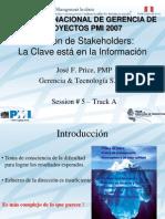 GStakeholders PMI Peru Congreso 2007