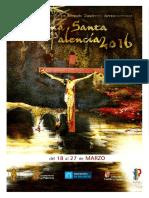 Programa Seman Santa Palencia 2016