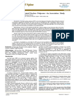 Sacralization and Herniated Nucleus Pulposus an Association Study 2165 7939 1000297