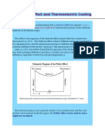 The Peltier Effect and Thermoelectric Cooling