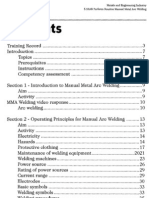 Routine Manual Metal Arc Welding