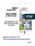 Health at a Glance Europe 2016 CHARTSET