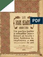 (1916) Lui Ion Bianu. Amintire. La Implinirea a 60 de Ani