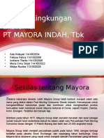 Analisis Eksternal PT Mayora Indah, Tbk.