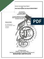 SIP Report Prateek